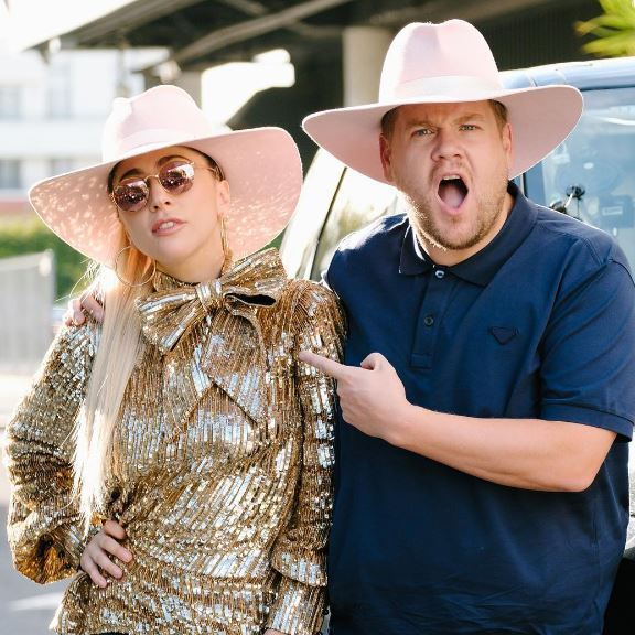 Lady Gaga is set to be the latest celebrity to join James Corden for a spot of Carpool Karaoke, and by the look of this new teaser the vivacious singer certainly gives the British show host a commute to remember!