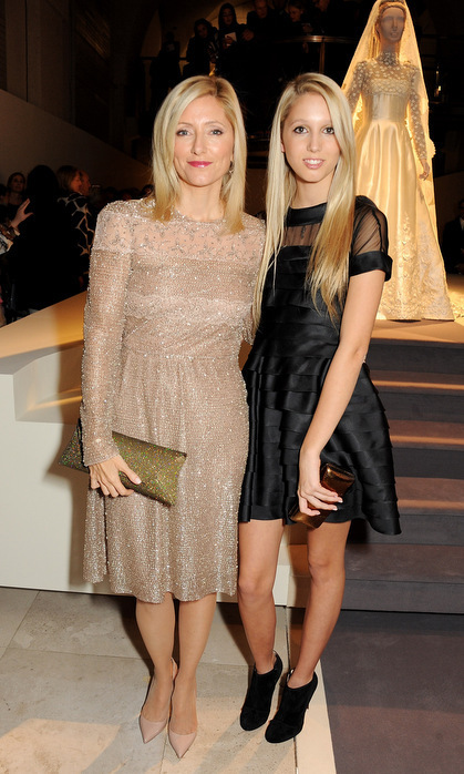 Like mother, like daughter! Olympia and her mom Crown Princess Marie-Chantal made a chic pair at a private viewing for London's Valentino: Master Of Couture exhibition in 2012. The young royal opted for a LBD, while her mother went neutral in a shimmering midi dress.