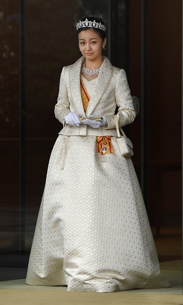 Princess Kako looked gorgeous at her 20th birthday party at the Imperial Palace in December 2014. 