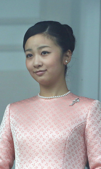 Kako was there too, dressed in pink. 