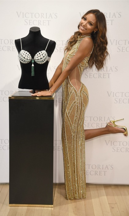 Jasmine Tookes is wearing this year's $3 million Fantasy Bra. 