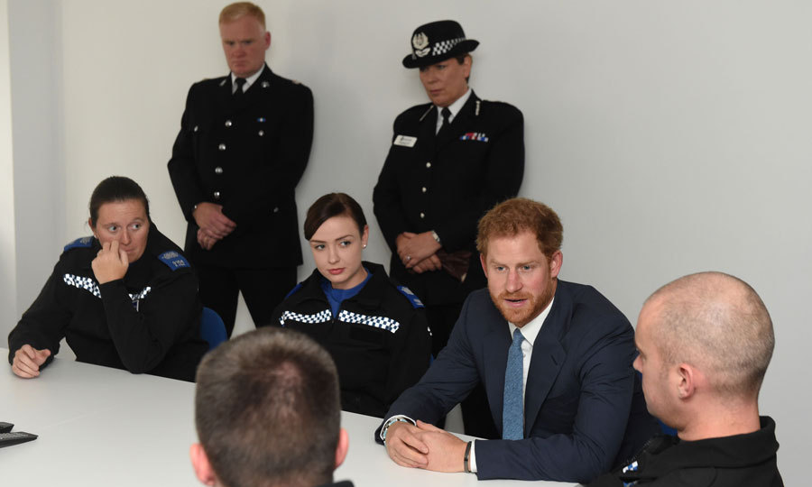 He also attended a police briefing to learn bout the issues that are affecting people in Nottingham communities.