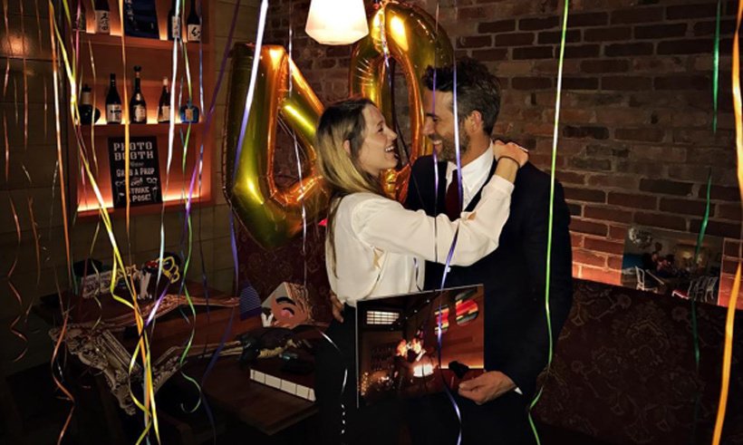 Four years of marriage and two kids later, Ryan Reynolds and Blake Lively are more in love than ever! The <em>Deadpool</em> star and his lovely wife rang in Ryan's 40th birthday at the New York location of the Boston Japanese eatery where they first fell in love.