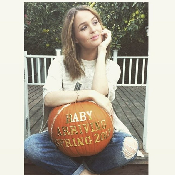 She's having a... pumpkin! <em>Grey's Anatomy</em> star Camilla Luddington had a little fun announcing that she's expecting a baby, her first with husband and fellow actor Matt Alan.