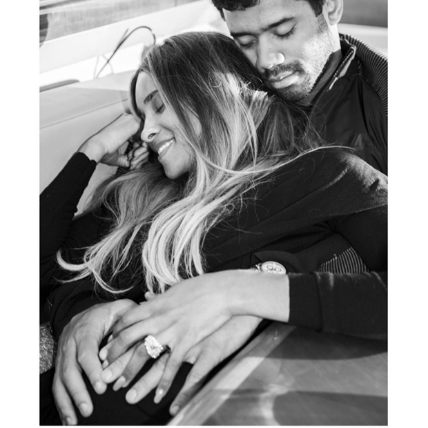 Newlywed Ciara had another big reason to celebrate her 31st birthday: she's expecting her first baby with husband Russell Wilson and shared the happy news on Instagram. Talk about a family photo op!