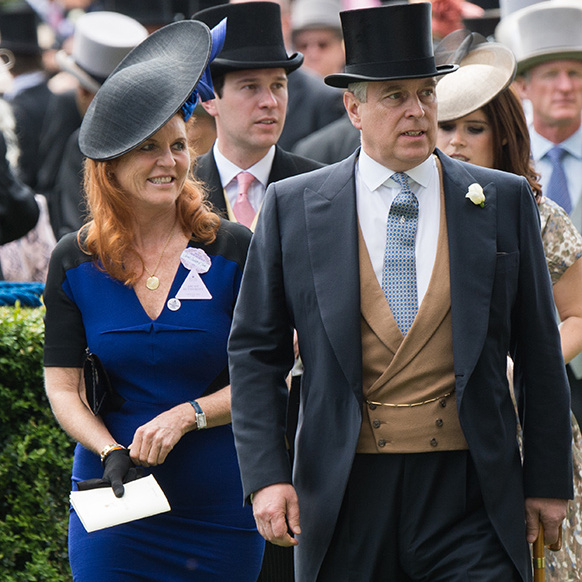 "Prince Andrew's ex said: ""We've never really left each other.""