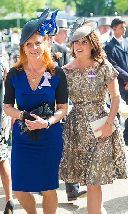 The duchess has two daughters with her ex.