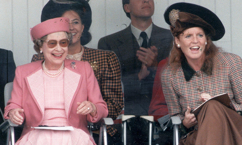 """I always get really nervous before meeting the boss,"" said Sarah Ferguson.
