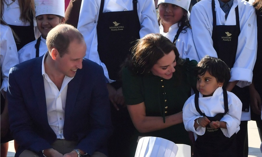 "Alison Love, who is a board member of the Okanagan Chef's Association, recounted the moment when Kate, 34, sprung into action to help a little boy who was on the move during their visit to Mission Hill Winery as part of their 2016 Canadian royal visit. ""There was a little one sitting beside Kate and he kept squirming off his chair and she kept lifting him up and putting him back on his chair, Alison told <em><strong>Hello!</strong></em>. ""It was quite cute, but funny to watch – up, down, up, down.""