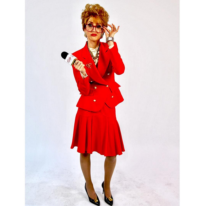 <em>The Goods</em> host Jessi Cruickshank did a spot-on Sally Jesse Raphael!
