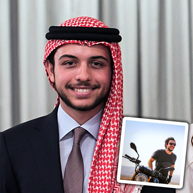 <h3>CROWN PRINCE HUSSEIN</h3>