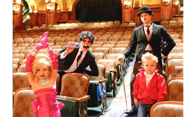 Neil Patrick Harris and David Burtka joined their twins Harper and Gideon in dressing up as Hollywood icons. <br>Photo: Instagram/@nph