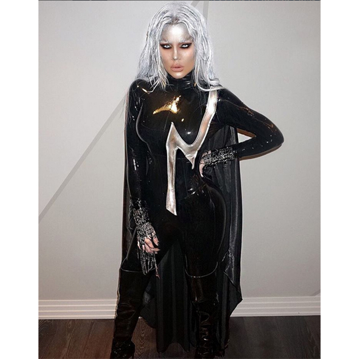 Khloe Kardashian looked unrecognizable as Storm from <i>X-Men</i>.