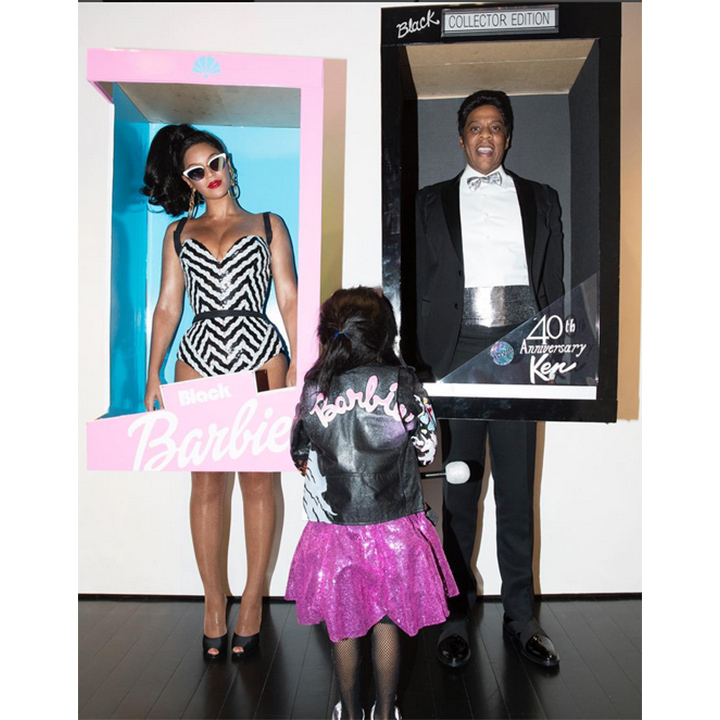 The Carter family strikes again! Beyonce, Jay Z and Blue Ivy entered the world of Barbie.  