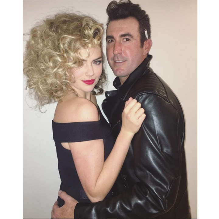 Kate Upton and her fiancé Justin Verlander made the perfect Danny and Sandy from <i>Grease</i>. 