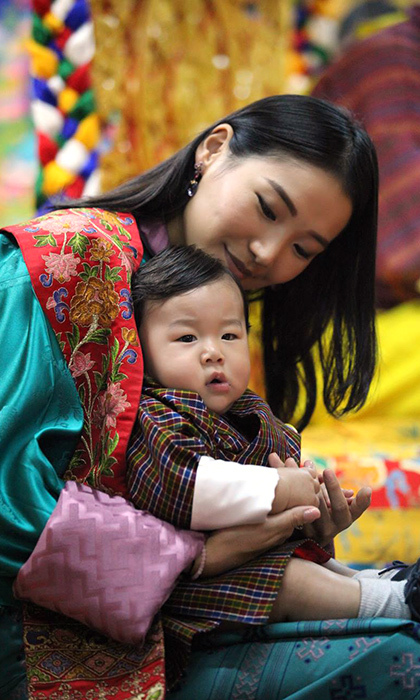 Prince Jigma and Queen Jetsun. 