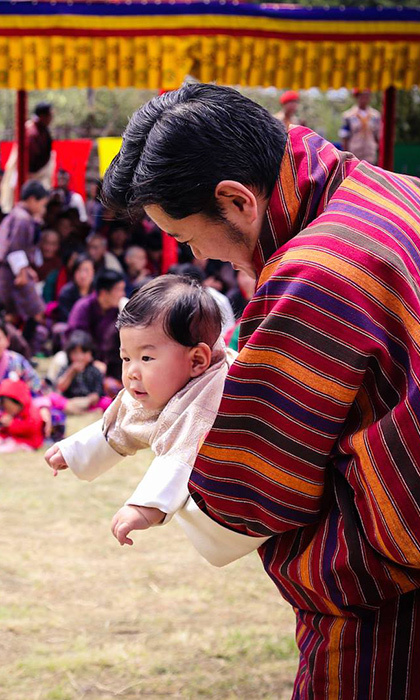 Jigma had some fun with his dad, King Jigma. 