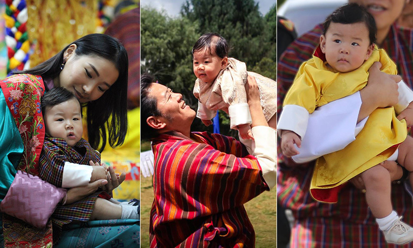 Bhutan's King Jigme Singye Wangchuck and his wife Queen Jetsun Pema were overjoyed to welcome their first child, a baby boy, on Feb. 5, 2016. Prince Jigme Namgyel Wangchuck has made many public appearances with his parents, all in which have led to adorable photo ops. 