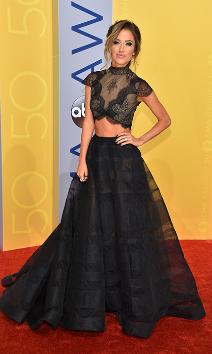 Kaitlyn Bristowe donned this sheer two-piece with Open Hearts by Jane Seymour jewelry.