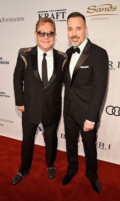 "Sir Elton John and husband David Furnish attended the Elton John AIDS Foundation's 15th annual 'An Enduring Vision' Benefit Gala. Discussing the night with <em><strong>Hello!</em></strong>, the legendary singer said, ""It's incredibly important. It's our main fundraiser in New York.""