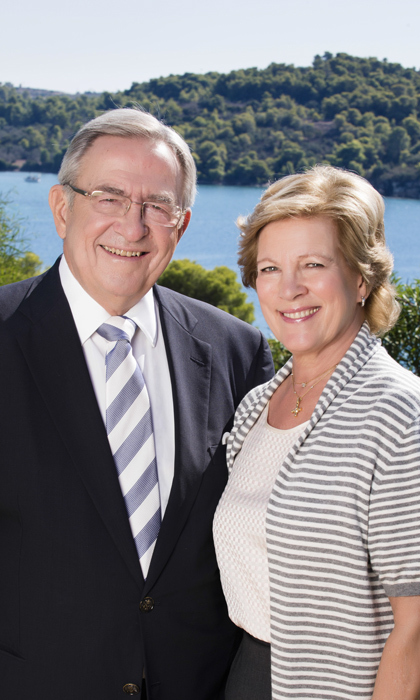 <b>King Constantine II and Queen Anne-Marie</b>