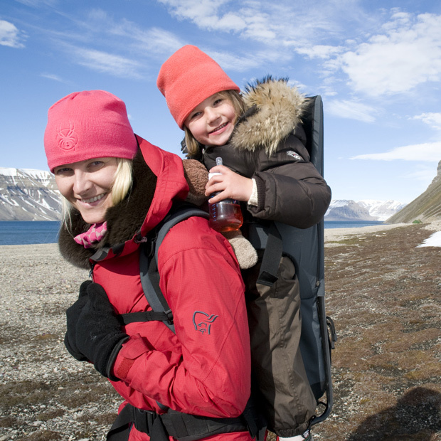 In 2008, Mette-Marit and her little princess explored Svalbard, one of the world's northernmost inhabited areas.