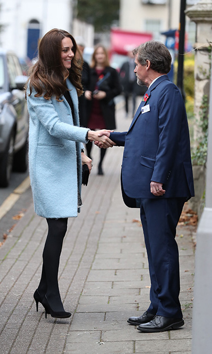 Kate Middleton visits The Nelson Trust Women's Centre.