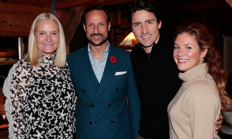 Before kicking off their tour on Nov. 7, the couple enjoyed a private dinner with Prime Minister Justin Trudeau and his wife Sophie. 