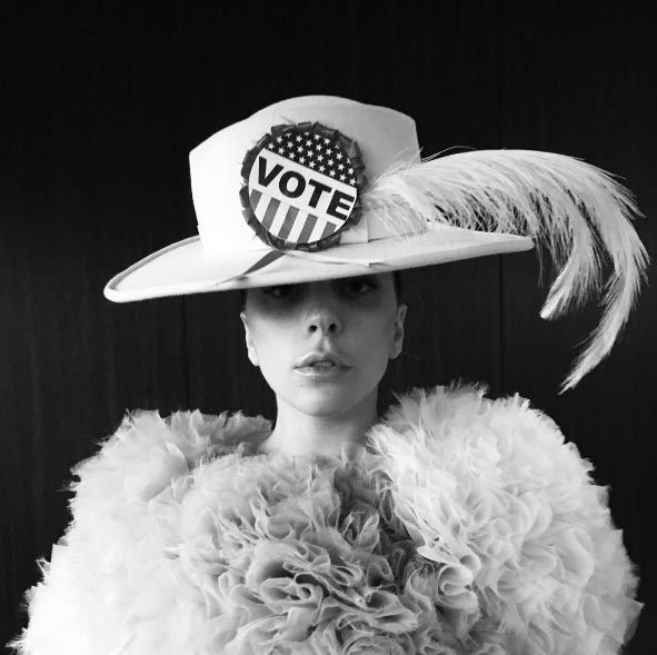 Lady Gaga never shies away from making a fashion statement, and this ensemble was no exception.