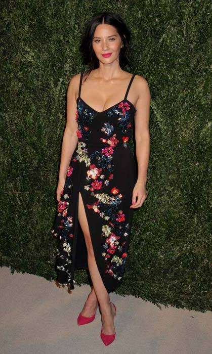 Olivia Munn in Tanya Taylor