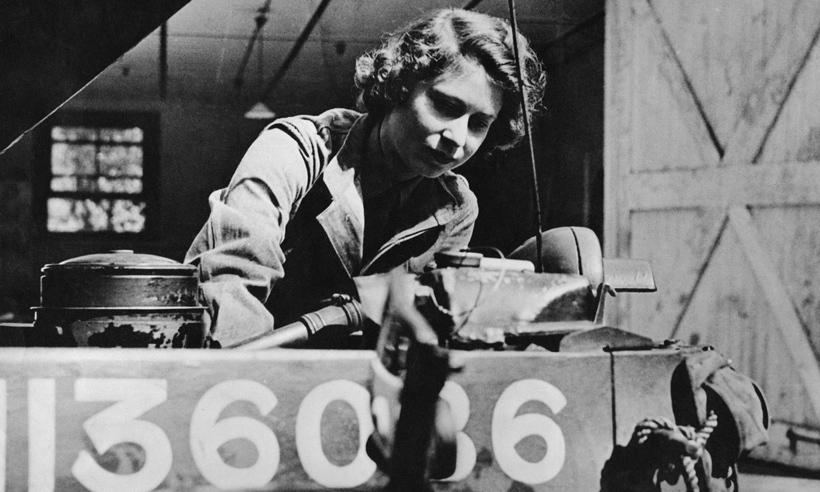 "To this day, she's the only female member of the Royal Family to have served with the military, and might be the only royal ever trained to change a spark plug. ""I've never worked so hard in my life,"" she told a friend. ""Everything I learned was new to me – all the oddities of the insides of a car.""