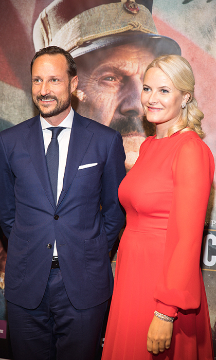 The TIFF Bell Lightbox hosted a royal film screening on Nov. 8, with Prince Haakon and Princess Mette-Marit walking the red carpet. 