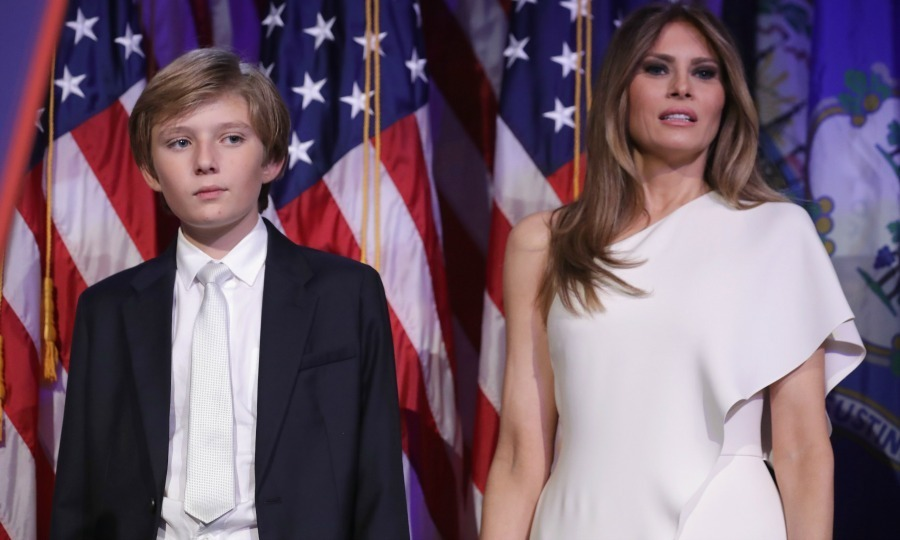 <h2>Barron Trump's late night</h2>