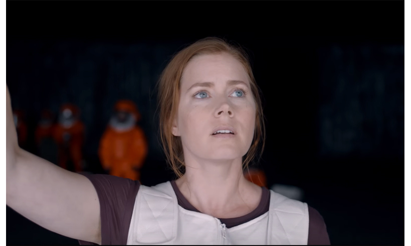 Amy Adams stars in the extraterrestrial drama <i>Arrival</i>.