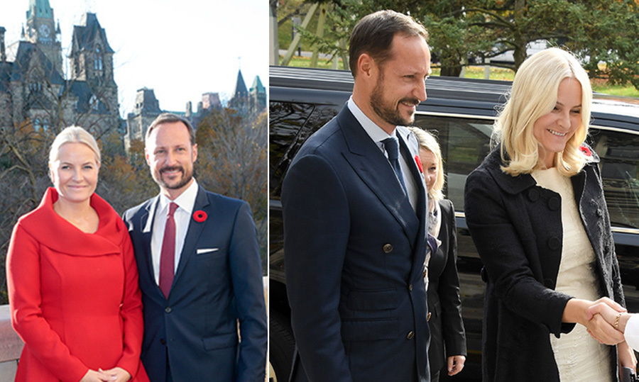 Norway's Prince Haakon and Princess Mette-Marit arrived in Ottawa on Sunday evening (Nov. 6) to carry out their first official tour of Canada as a couple. 