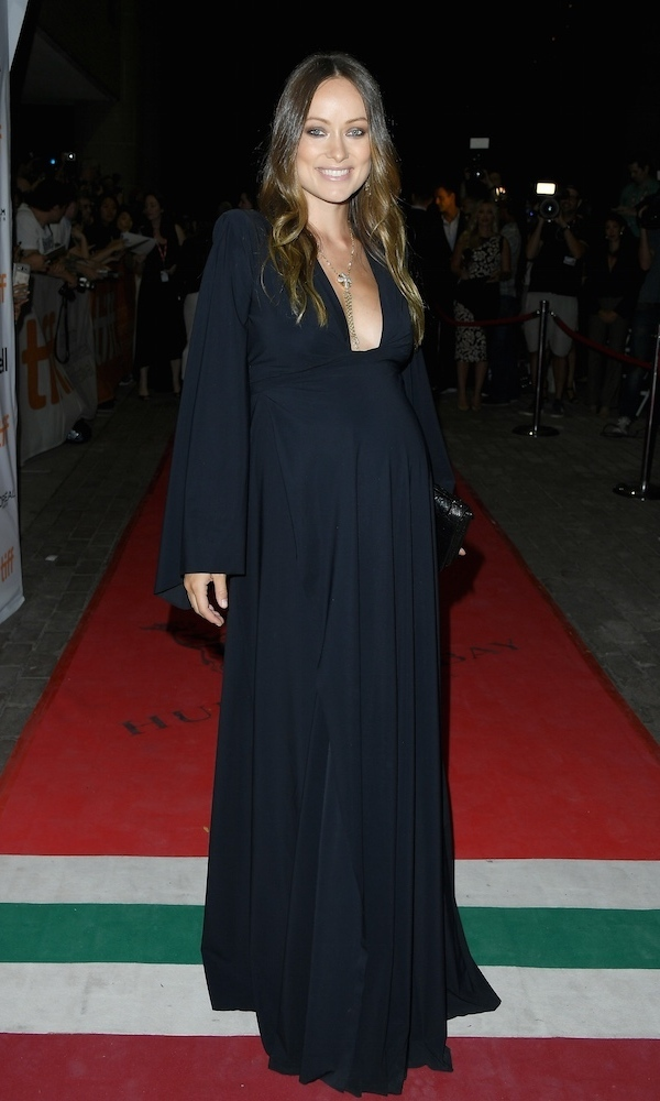 When in Rome...or Toronto! Olivia Wilde stunned in homegrown brand Greta Constantine while attending the premiere of <em>Colossal</em> at the 2016 Toronto International Film Festival.