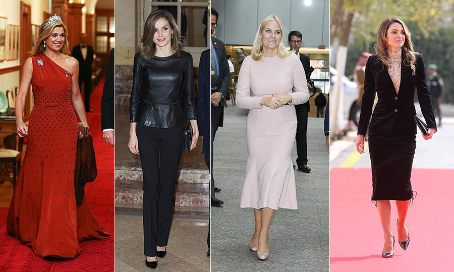 From Princess Mette-Marit in Toronto to Queen Máxima in New Zealand, some of the most stylish royals were wearing their tour finest this week. Meanwhile, monarchs Letizia, Rania and the Queen showed their credentials on home turf. Click through to see the week's best-dressed royals...