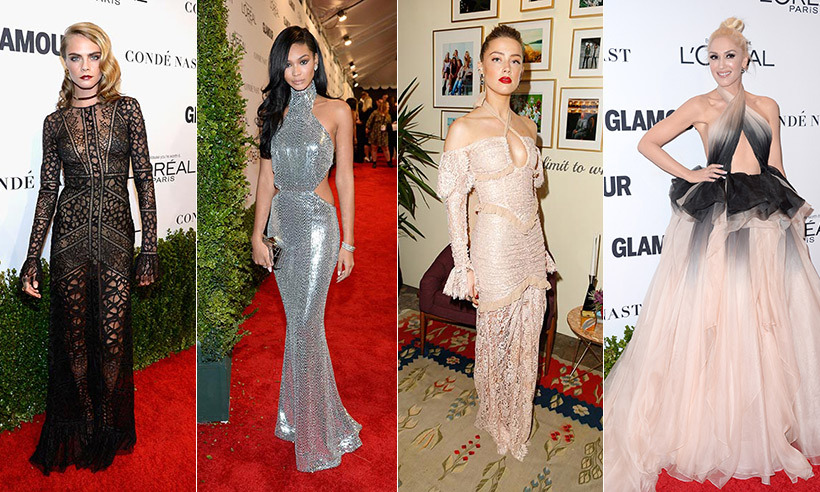 Fashion reigned supreme in Los Angeles last night (Nov. 14), as Hollywood's leading ladies stepped out to celebrate the work of some remarkable women at Glamour's Women of the Year Awards. 