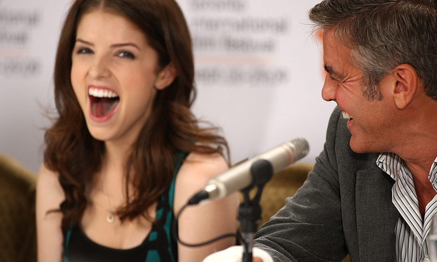 Anna Kendrick co-starred with George Clooney in <em>Up In The Air</em>.