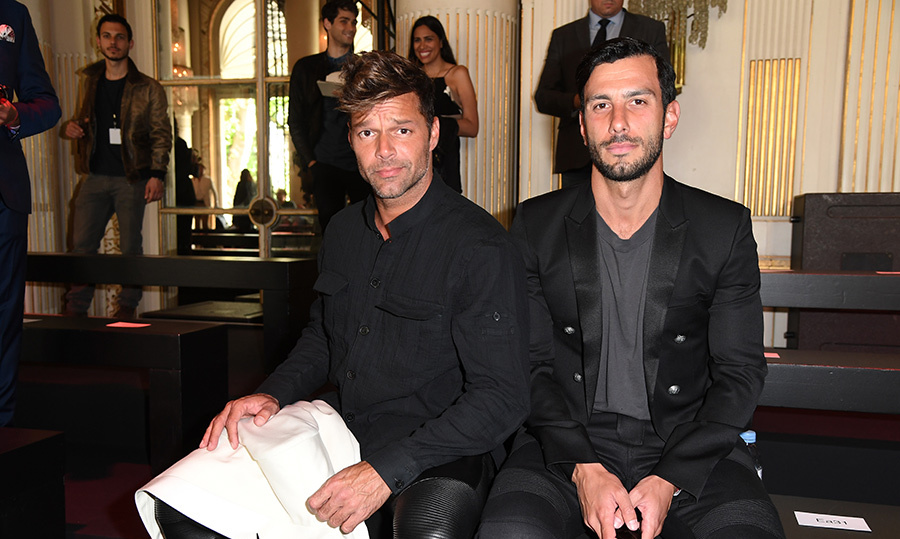 <h2>Ricky Martin and Jwan Yosef</h2>