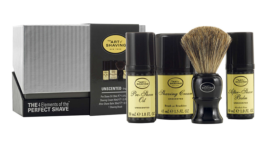 The Art of Shaving Initiation Kit, $73.