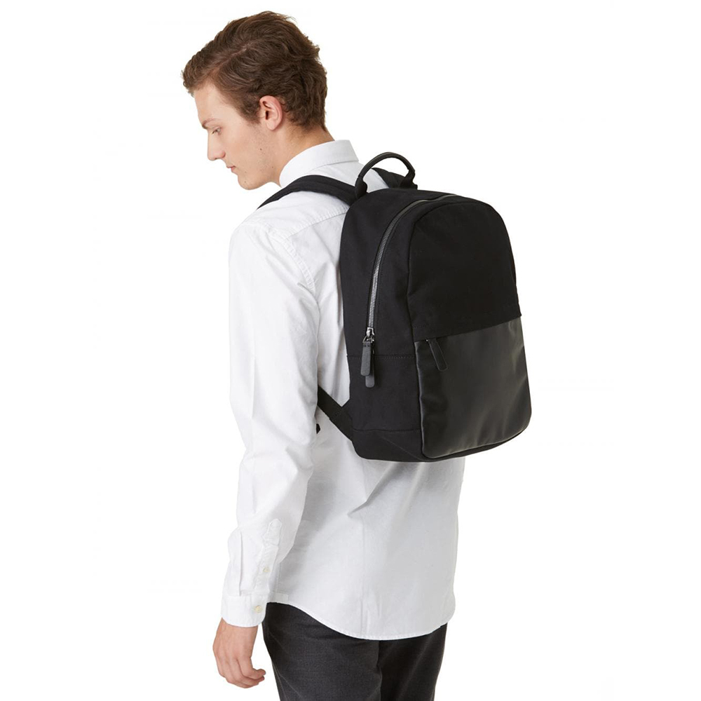Frank + Oak The Day Off Backpack in Black, $75.