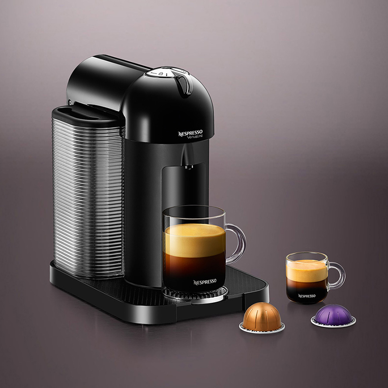 Nespresso Virtuoline Black, $249.