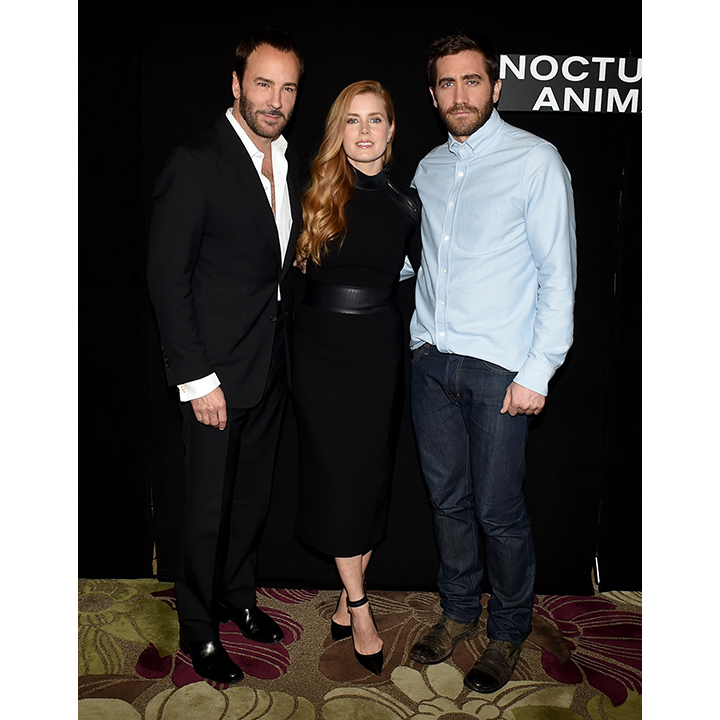 Amy Adams and Jake Gyllenhaal star in the Tom Ford-directed <i>Nocturnal Animals</i>.