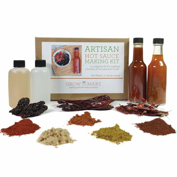 Artisan DIY Hot Sauce Kit, $40.