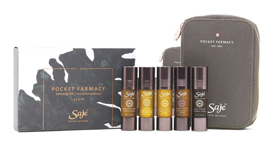 Saje Natural Wellness Pocket Farmacy, $59.95. 