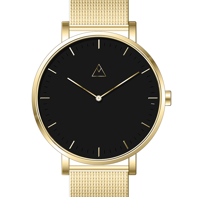 Medium Watch's The Debut in Gold Mesh, $250. 