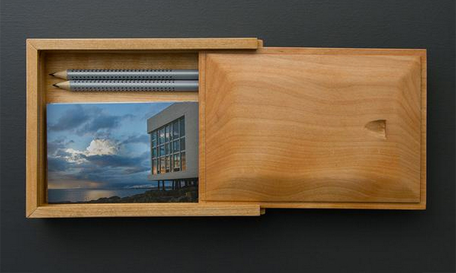 Postcard Box, $90. 