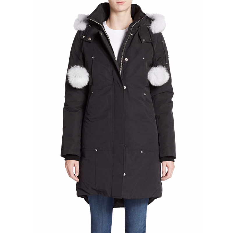 Moose Knuckles Stirling Fur-Trim Parka, From $850. 