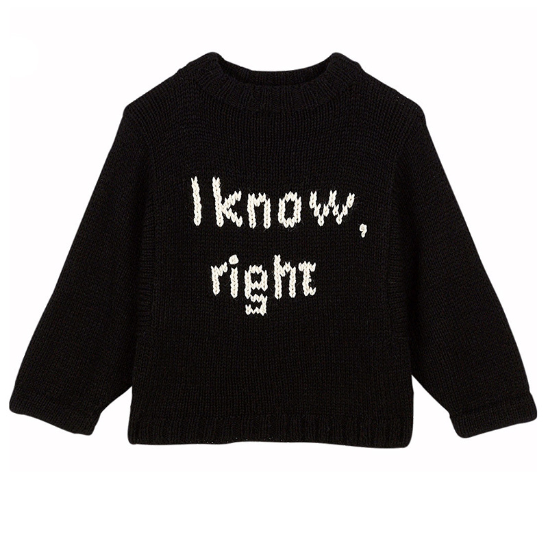 I Know Slogan Sweater from Holt Renfrew's H Project, $425.